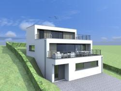 Construction d'une maison unifamiliale à MARCHOVELETTE