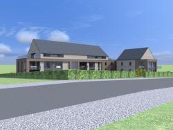 Construction d'un immeuble à appartment à BAILESSE.