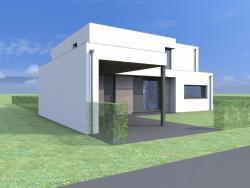Construction d'une maison passive à EUPEN.