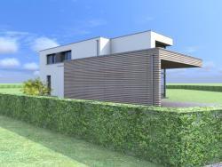 Construction d'une maison unifamiliale en CLT à MARCHE-EN-FAMENNE.