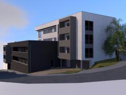 Construction d'un immeuble de quinze appartements à SAINT-NICOLAS.
