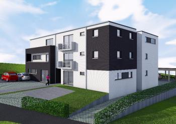 Construction d'un immeuble de 12 appartements à SAINT-NICOLAS.