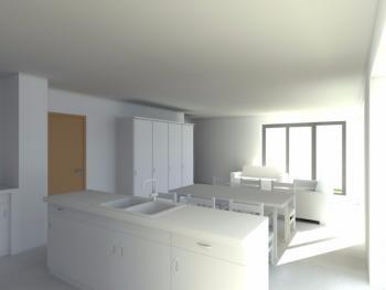Construction d'un immeuble de deux appartements à HERSTAL.