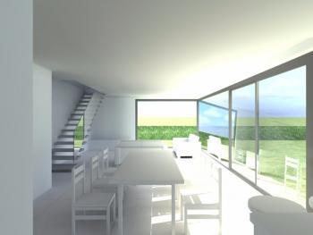Construction d'une maison unifamiliale en structure bois à OREYE.