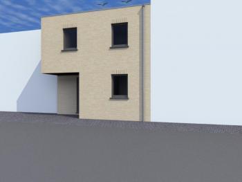 Construction d'une maison mitoyenne à SAINT-NICOLAS.
