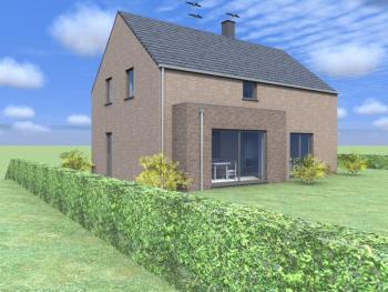Construction d'une maison unifamiliale à HARRE.