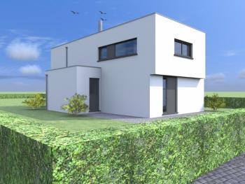 Construction d'une maison unifamiliale à HAM-SUR-HEURE.