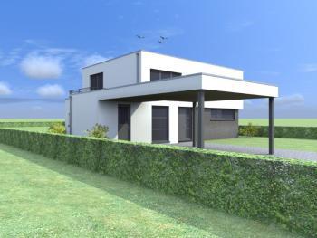 Construction d'une maison unifamiliale à ASSESSE.