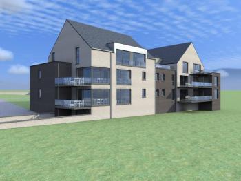 Construction d'un immeuble à appartements à BAILESSE.