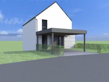 Construction d'une maison unifamiliale à METTET.