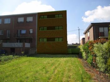 Construction d'un immeuble de deux appartements à ANS.