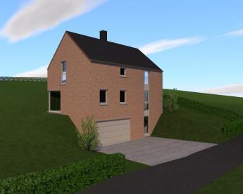 Construciton d'une maison unifamiliale à LA ROCHE-EN-ARDENNE.