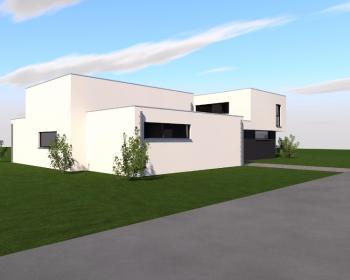 Construction d'une maison unifamiliale en CLT à HAVRE.