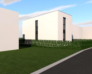 Construction d'une maison unifamiliale en CLT à BEYNE-HEUSAY.