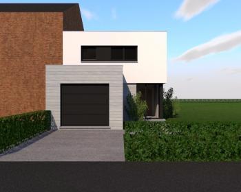 Construction d'une maison unifamiliale en CLT à GOUTROUX.