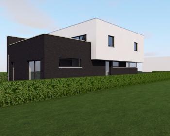 Construction d'un immeuble de trois appartements à SAINT-NICOLAS.