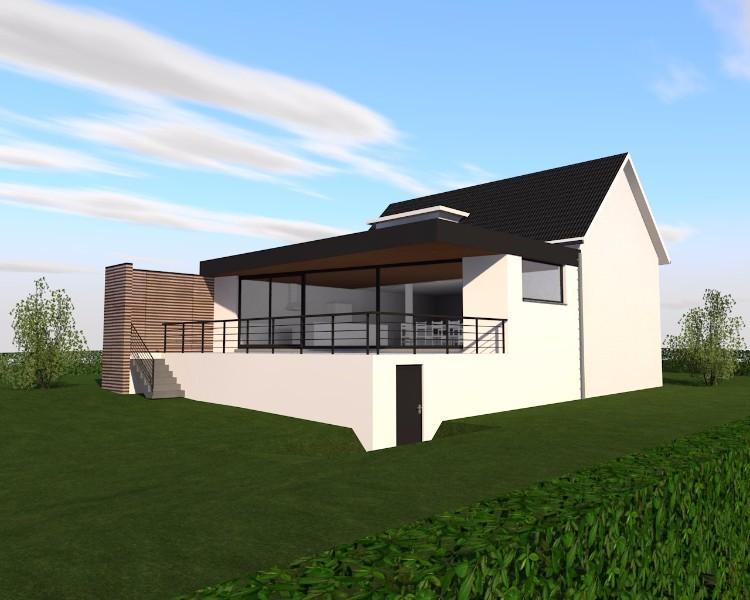 transformation d 39 une maison unifamiliale emboug. Black Bedroom Furniture Sets. Home Design Ideas